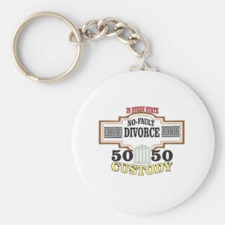 Chaveiro custódia 50 50 no casamento