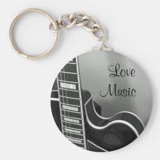 Chaveiro customizável da música do amor