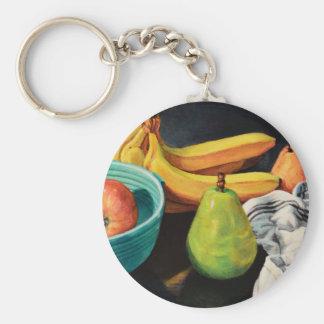 Chaveiro Da banana de Apple da pera vida ainda