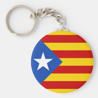Chaveiro da bandeira de Catalonia Estrellada
