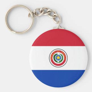 Chaveiro da bandeira de Paraguai