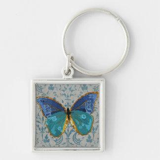 Chaveiro da borboleta de Boho