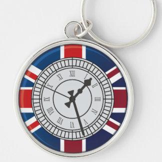 Chaveiro da face do relógio de Londres Big Ben