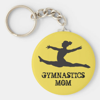 Chaveiro da mamã da ginástica