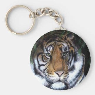 Chaveiro da pintura do tigre