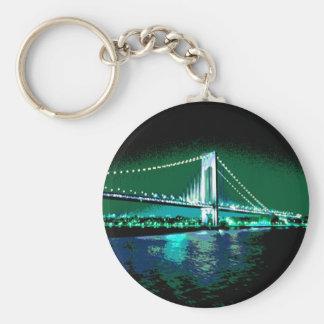 Chaveiro da ponte dos verdes & dos azuis