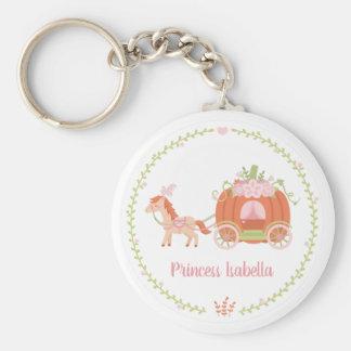 Chaveiro da princesa Alaranjado Abóbora Carruagem
