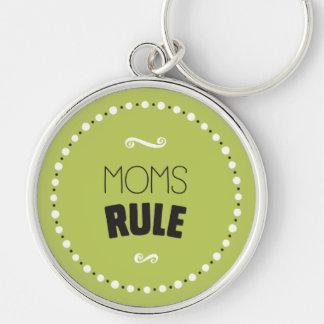 Chaveiro da regra das mães - fundo editável