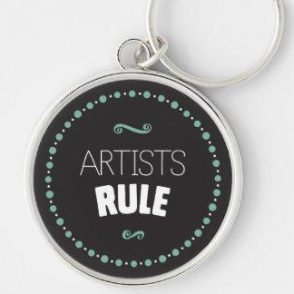 Chaveiro da regra dos artistas - preto