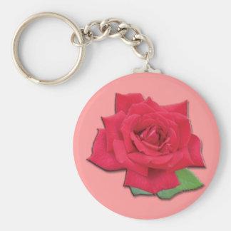 Chaveiro da rosa vermelha