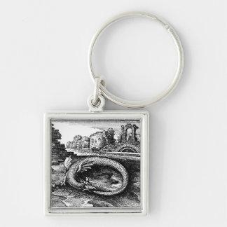 Chaveiro da serpente de Ouroboros