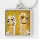 Chaveiro das alpacas do ouro
