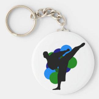 Chaveiro das artes marciais