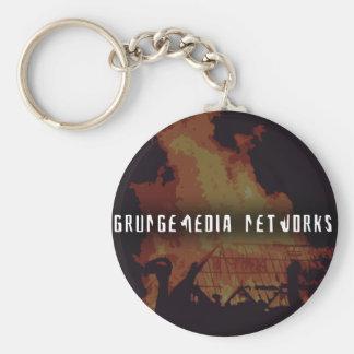 Chaveiro das redes de GrungeMedia