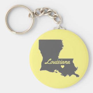 Chaveiro de Baton Rouge do amor de Louisiana do