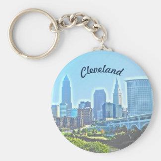 Chaveiro de Cleveland Ohio da manhã