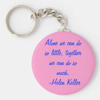 Chaveiro de Helen Keller