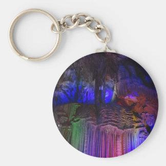 Chaveiro de prata do botão da caverna (Guilin,