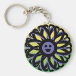 Chaveiro de sorriso da flor de Sally - 369