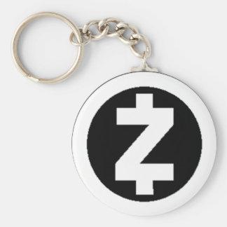 Chaveiro de ZCash (branco)