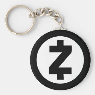 Chaveiro de ZCash (preto)