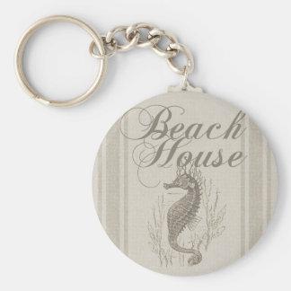 Chaveiro Decoração litoral de Sandy do cavalo marinho da