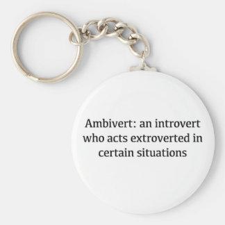 Chaveiro Definição de Ambivert