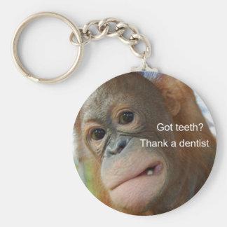Chaveiro Dentes obtidos? Agradeça a um dentista