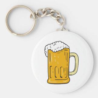 Chaveiro Desenho da caneca de cerveja