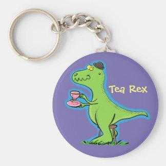 Chaveiro Desenhos animados engraçados do dinossauro do rex