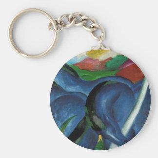 Chaveiro design azul dos cavalos da aguardente de Franz