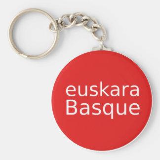 Chaveiro Design da língua Basque