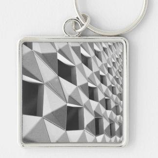 Chaveiro Design diagonal abstrato do teste padrão