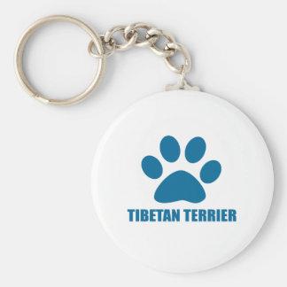 CHAVEIRO DESIGN DO CÃO DE TERRIER TIBETANO