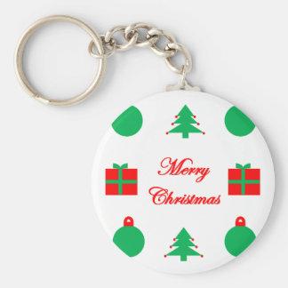 Chaveiro Design do Feliz Natal