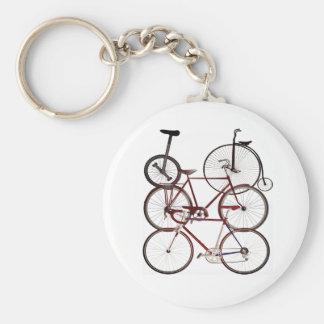 Chaveiro Design do impressão da bicicleta do vintage