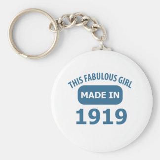 Chaveiro Design fabuloso das pessoas de 1919 anos