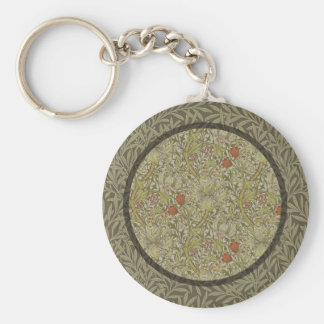 Chaveiro Design floral do impressão da arte do salgueiro do