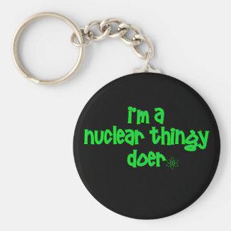 Chaveiro Design nuclear original