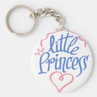 Chaveiro design pequeno do coração da princesa