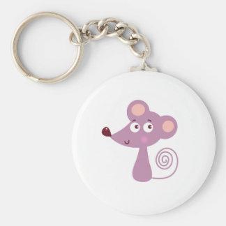 Chaveiro Design/rato dos miúdos no branco
