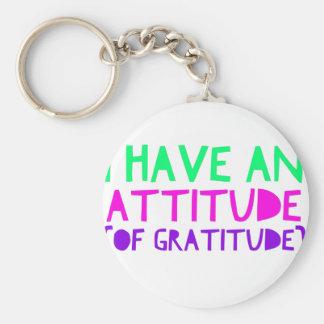 Chaveiro Desintoxicação AA da recuperação da gratitude da