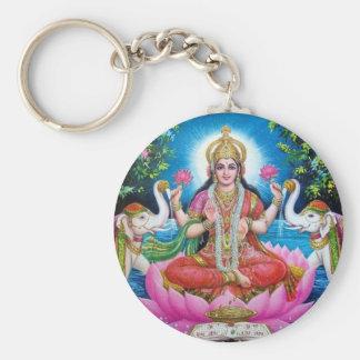Chaveiro Deusa de Lakshmi de amor, de prosperidade, e de