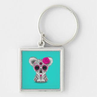 Chaveiro Dia cor-de-rosa do Koala inoperante do bebê