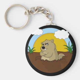 Chaveiro Dia de Groundhog