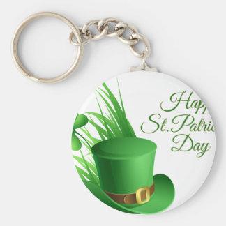 Chaveiro Dia de São Patrício feliz, santo irlandês do