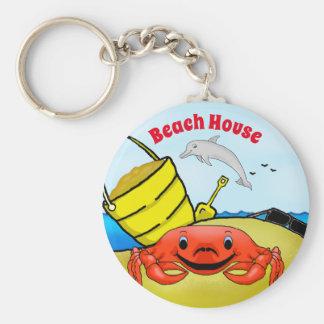 Chaveiro Dia na corrente chave da praia