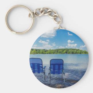 Chaveiro Dia perfeito no lago