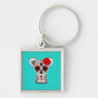 Chaveiro Dia vermelho do Koala inoperante do bebê