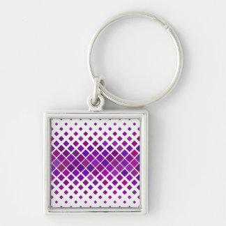 Chaveiro Diamantes violetas